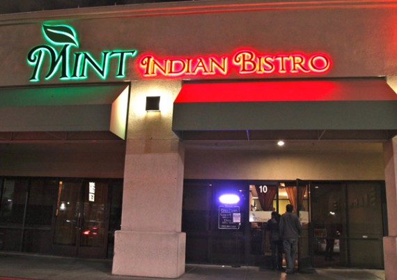 Give Us That And A Mango Rum Li We Re In Very Serene State Of Mind Mint Indian Bistro Is Located At 730 E Flamingo Rd Las Vegas