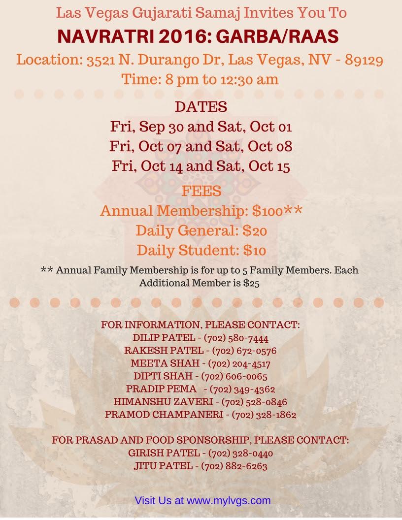 Invigorating Navratri Celebrations by Gujarati Samaj – Vegasdesi com